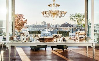 Un hotel atrevido y elegante en Viena