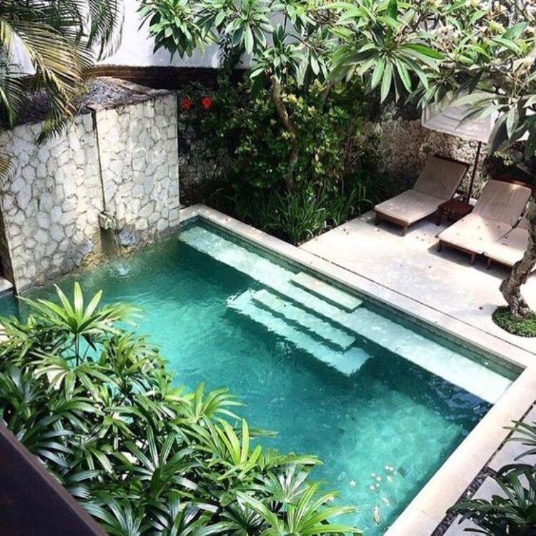25 Ideas Para Tener Una Piscina En Patios Y Jardines Pequenos Get The Look