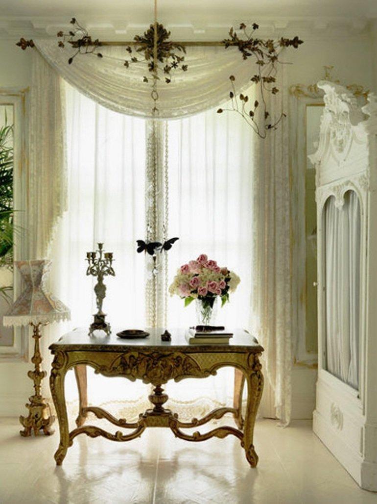 Decorar con blanco para una casa con glamour