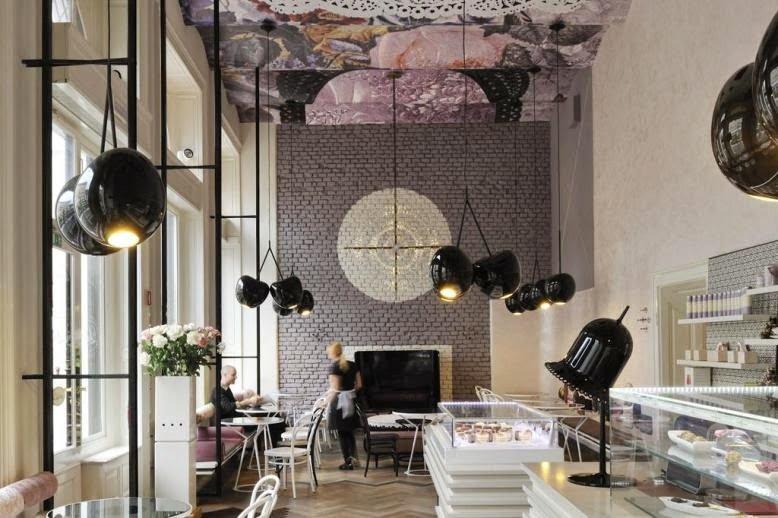 Una cafetería espectacular y coqueta