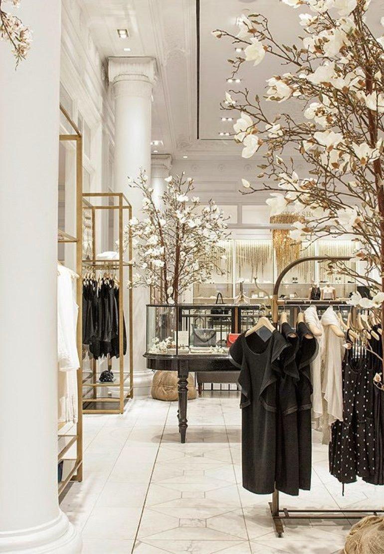 La renovación de una tienda de moda