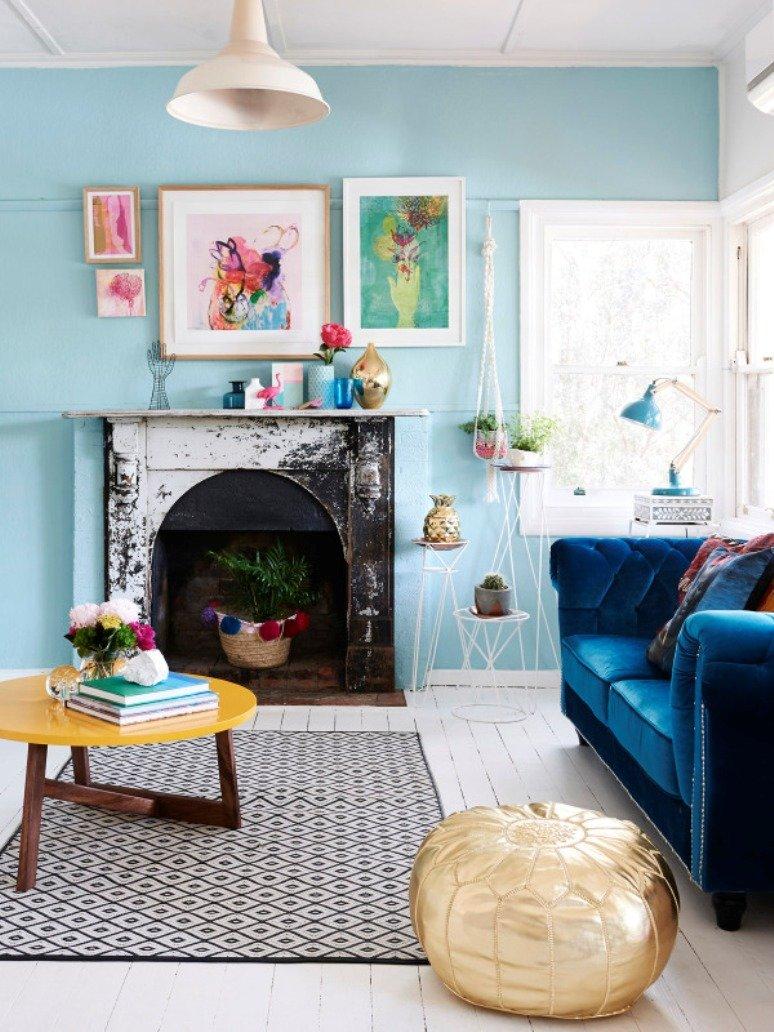 Una casa crafty y llena de creatividad