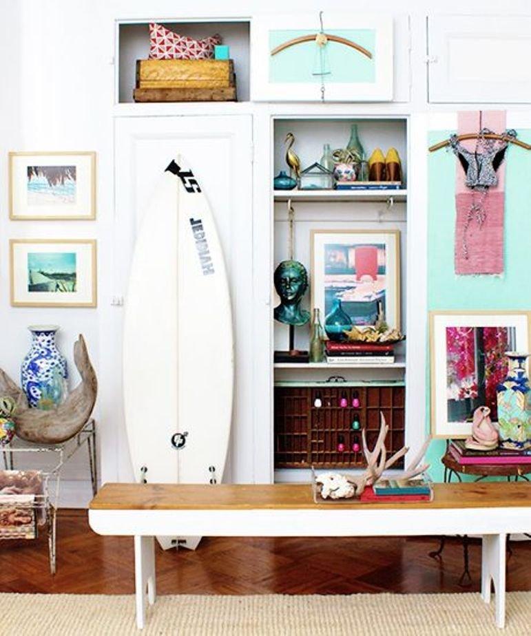 Cómo decorar con estilo surfero