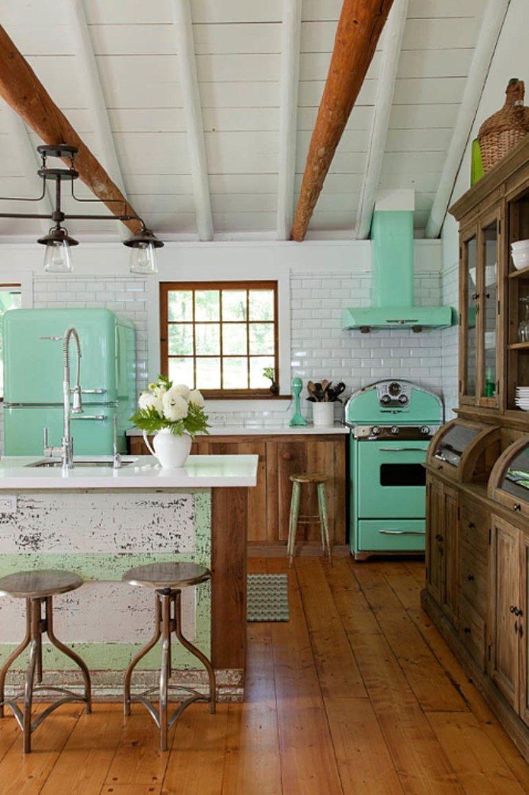 Una casa llena de color lista para el otoño