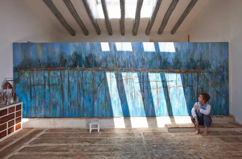 La casa de una artista en la Costa Brava