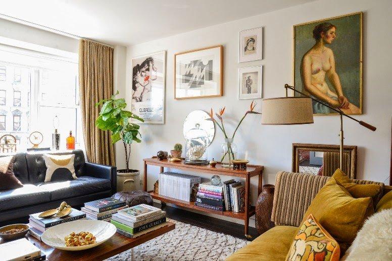 Decorando un apartamento en el Soho de New York