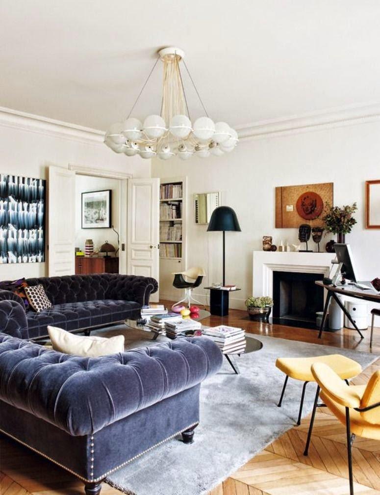 Un apartamento con mucho estilo y creatividad