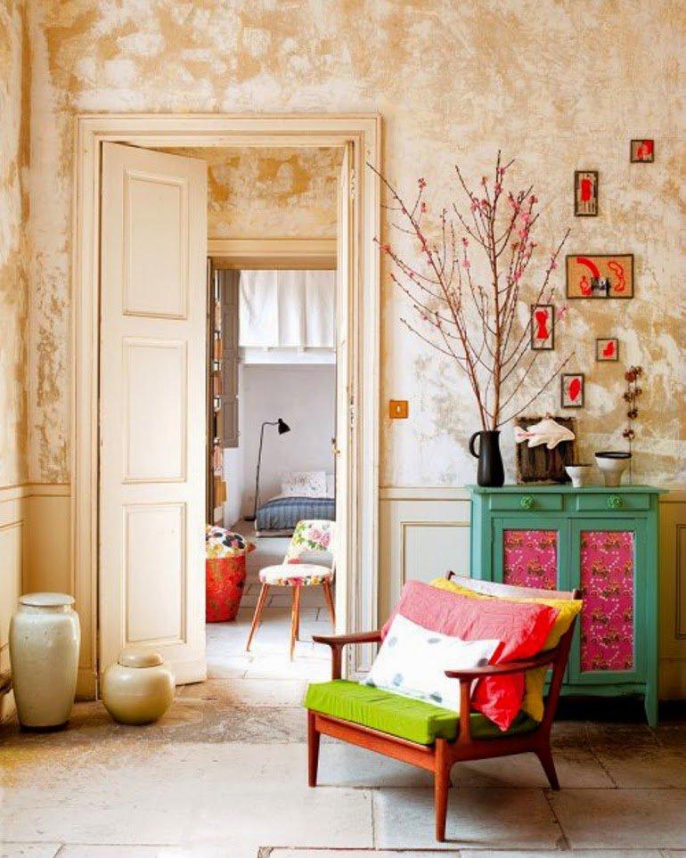 Color y decadencia en Nimes, Francia
