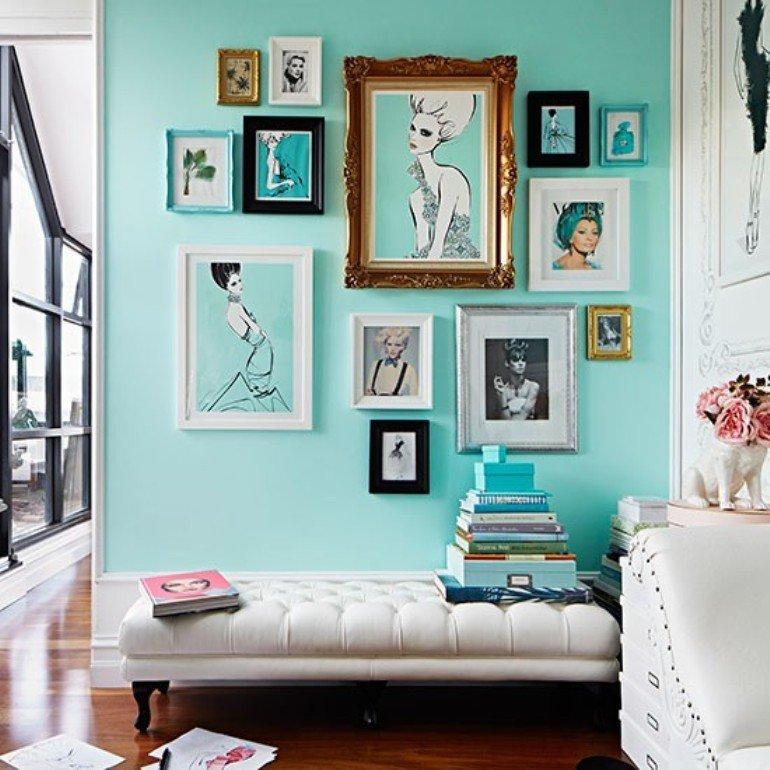 Una casa femenina y glamurosa