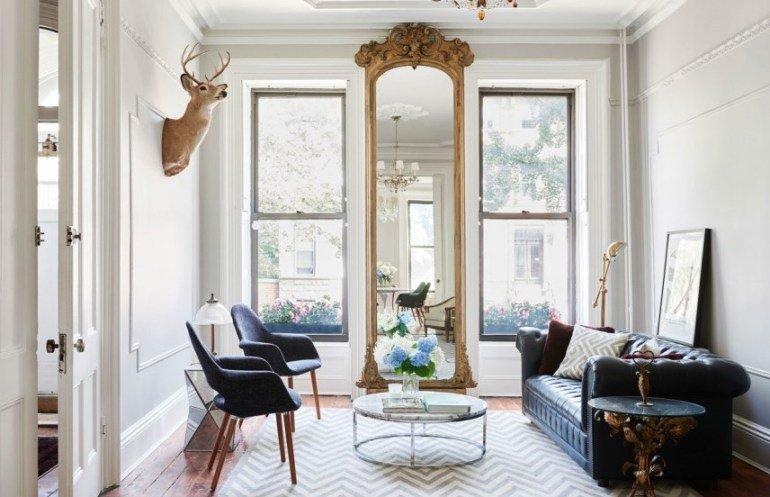 Una renovada y sofisticada casa en Brooklyn