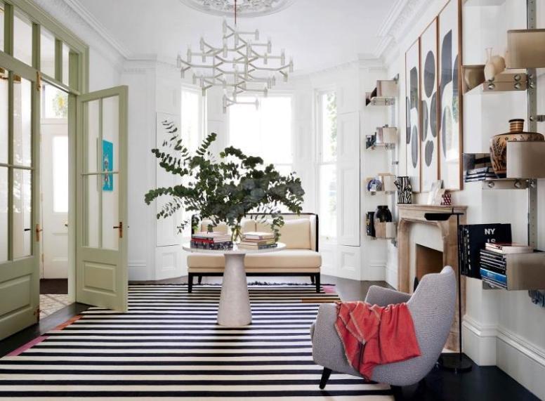 Cuando menos es más: una sofisticada casa en Notting Hill