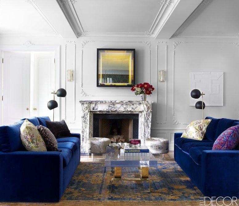 Un apartamento lleno de glamour y un toque de dramatismo