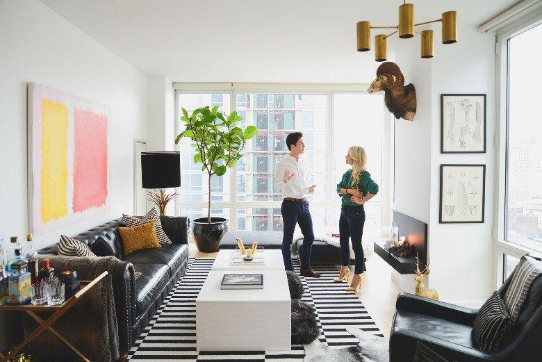 Un apartamento en New York donde experimentar