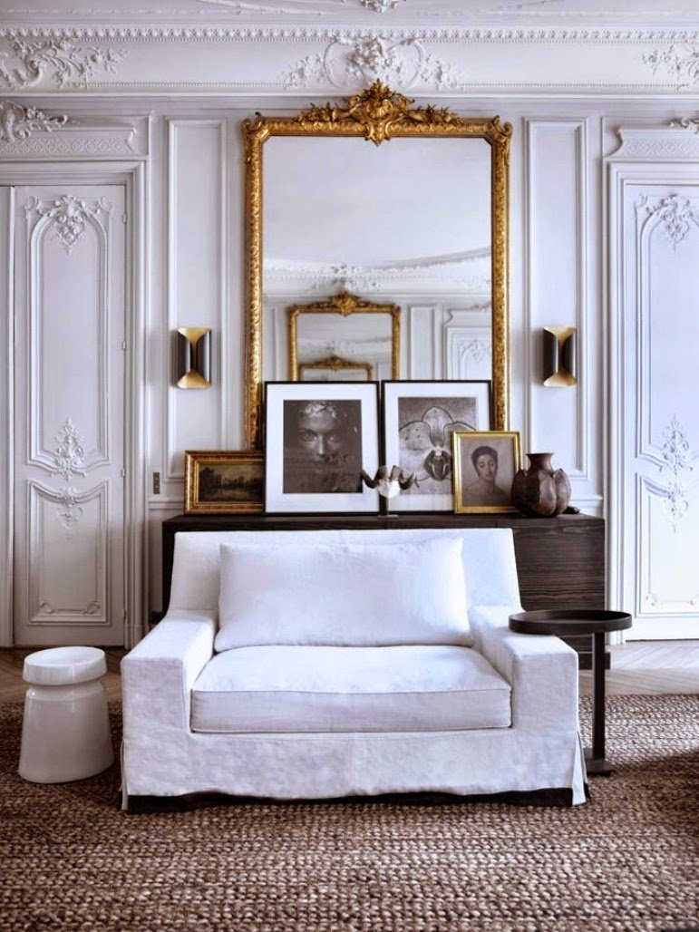 Decorar con austeridad Chic