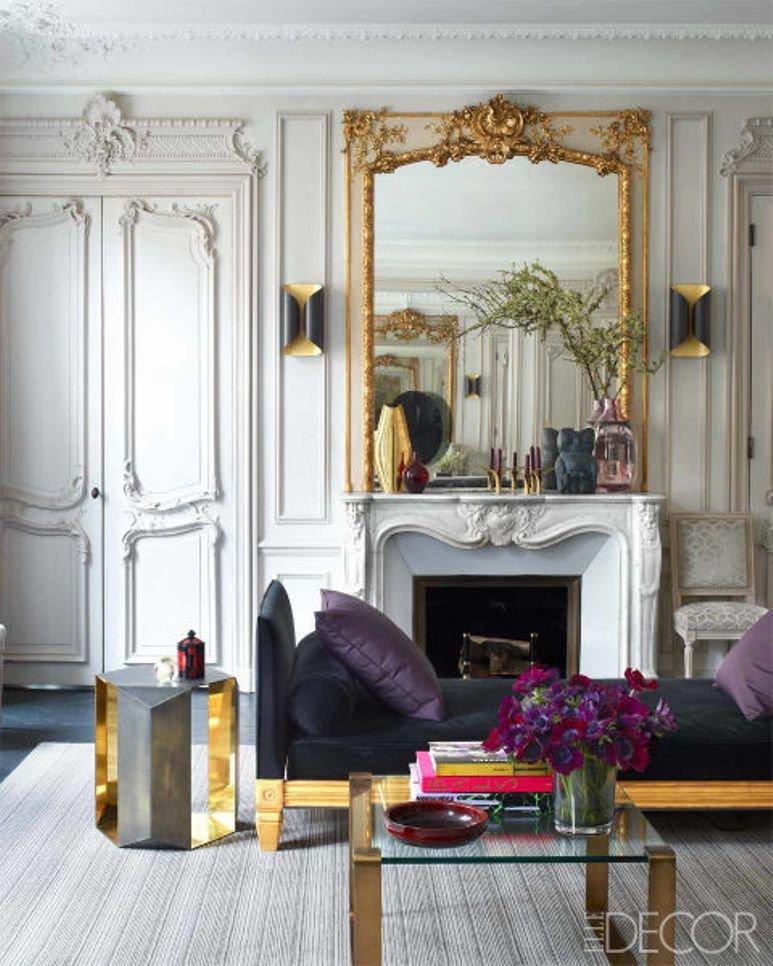 Un apartamento chic en París con mucho arte