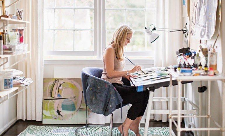 La suavidad y calidez de una casa Eco-Chic