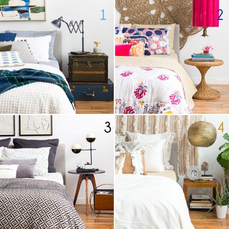 4 formas de decorar tu cama según tu estilo