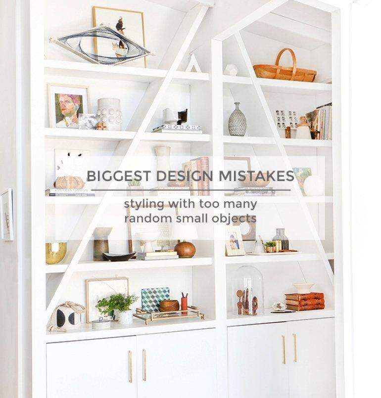 Evitar el error más frecuente al decorar tus estanterías...