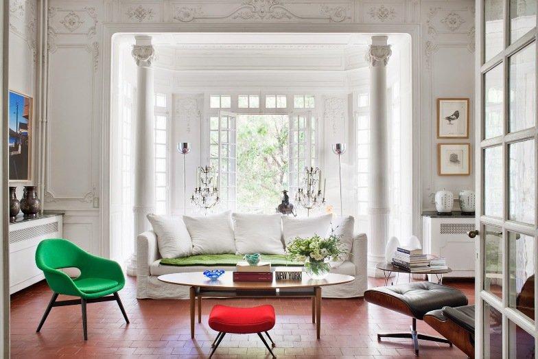 Una mansión moderna y Chic