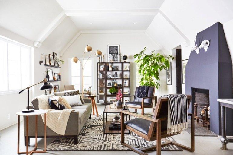 Cómo conseguir que una habitación con muebles oscuros sea más cálida