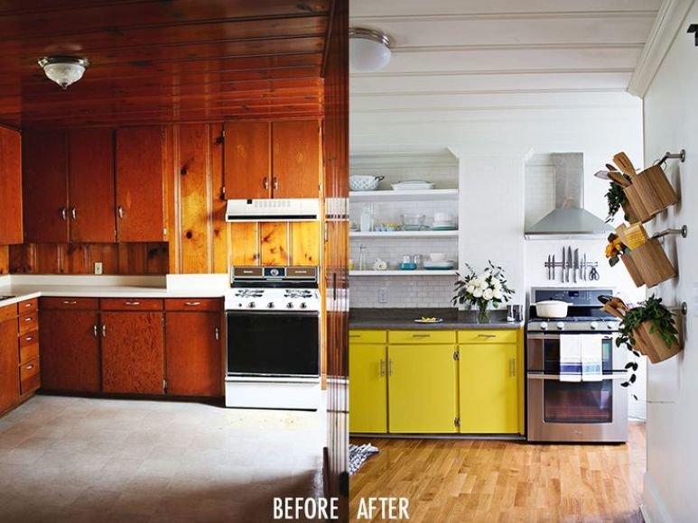 Cómo reutilizar unas puertas de cocina de madera maciza