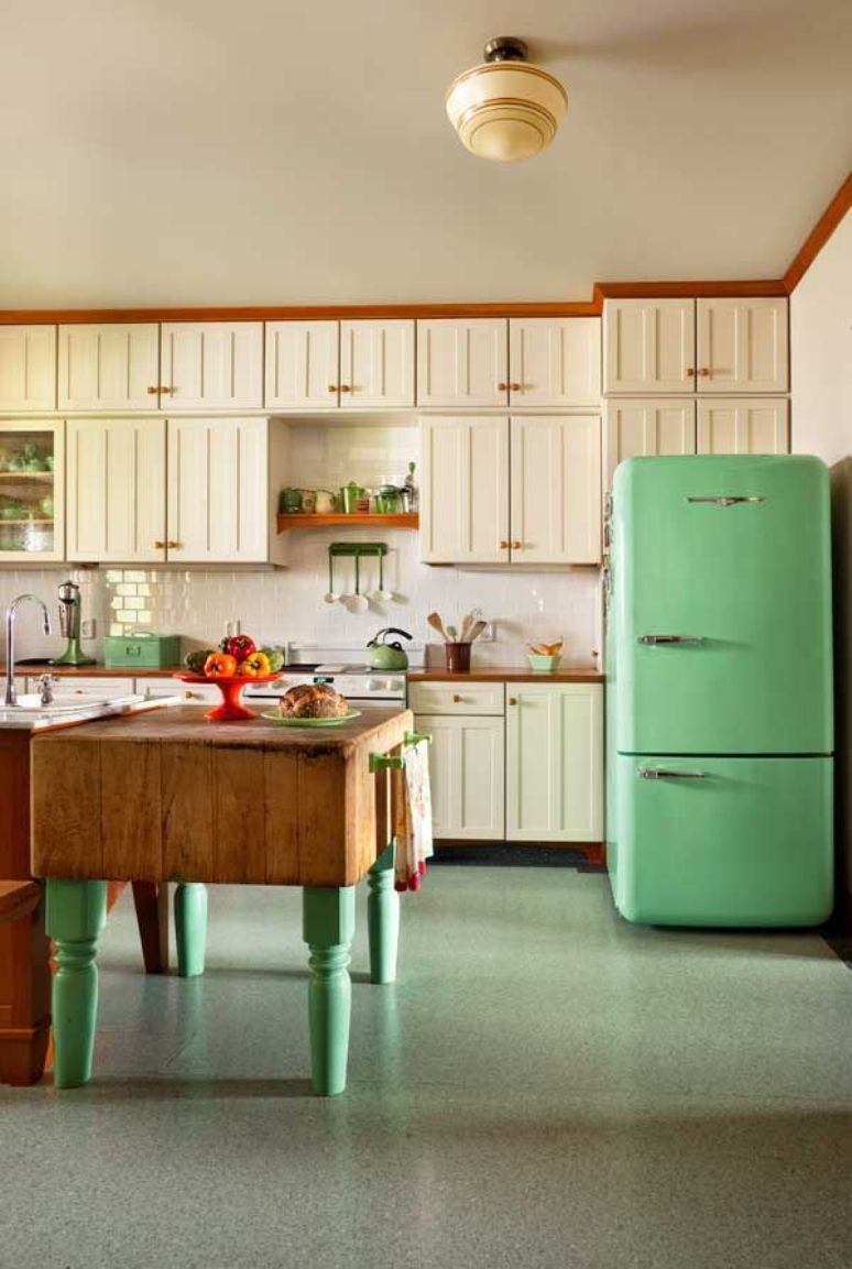 Añade color a tu cocina con la nevera