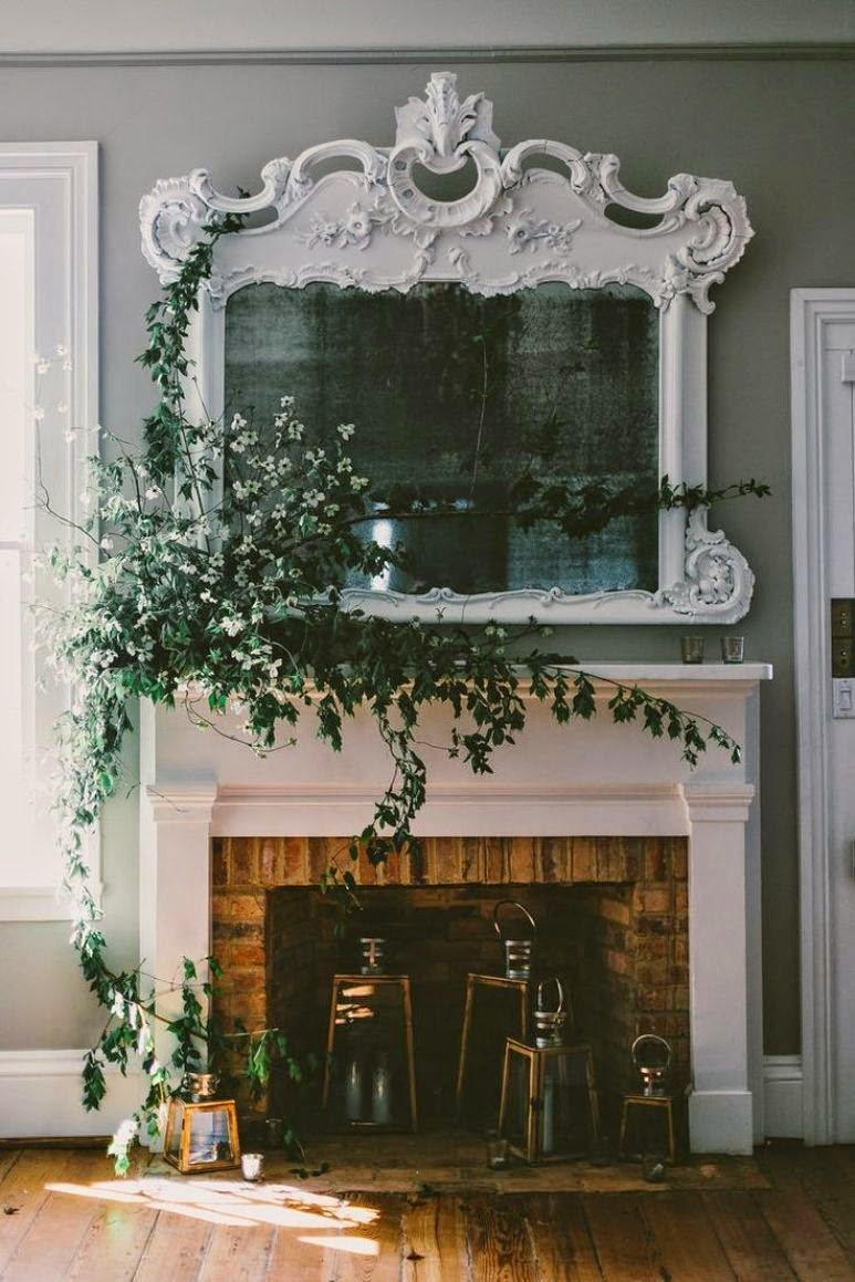 Cómo decorar tu chimenea para esta primavera