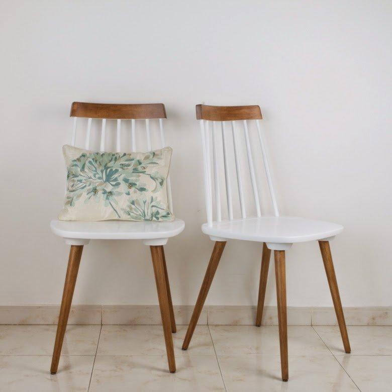 Cómo transformar unas antiguas sillas recuperando su historia