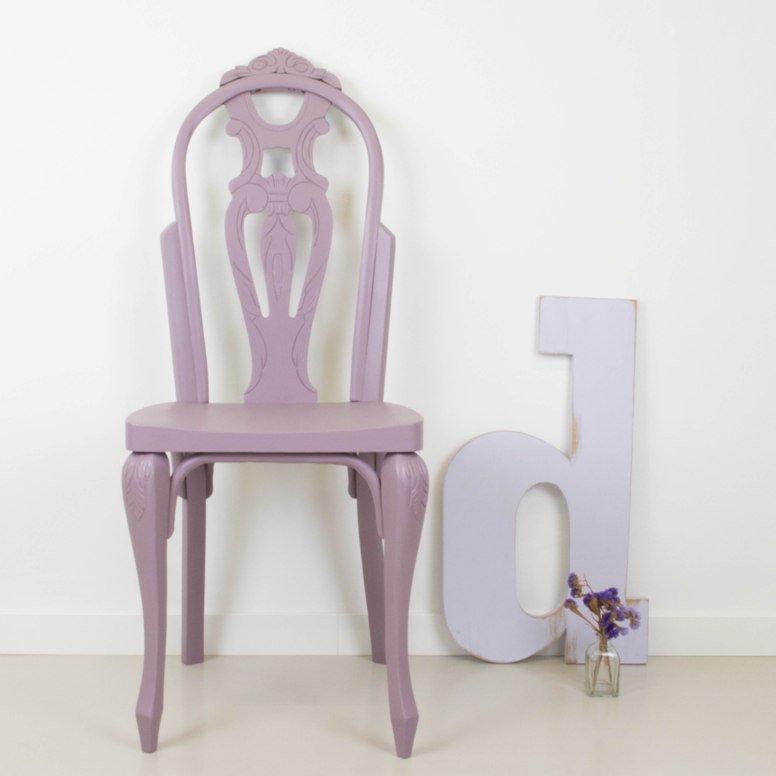Cómo transformar una silla clásica en una bohemia y femenina