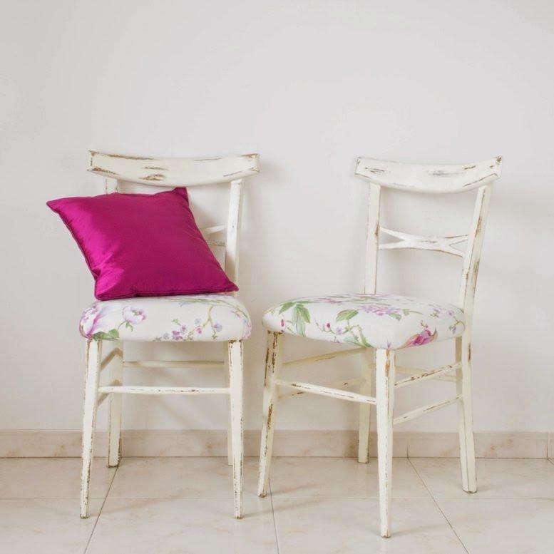 Transformamos unas sillas sencillas en sillas de estilo Tropical Chic