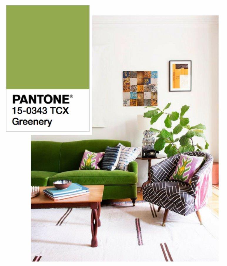 Cómo decorar nuestra casa con verde Greenery
