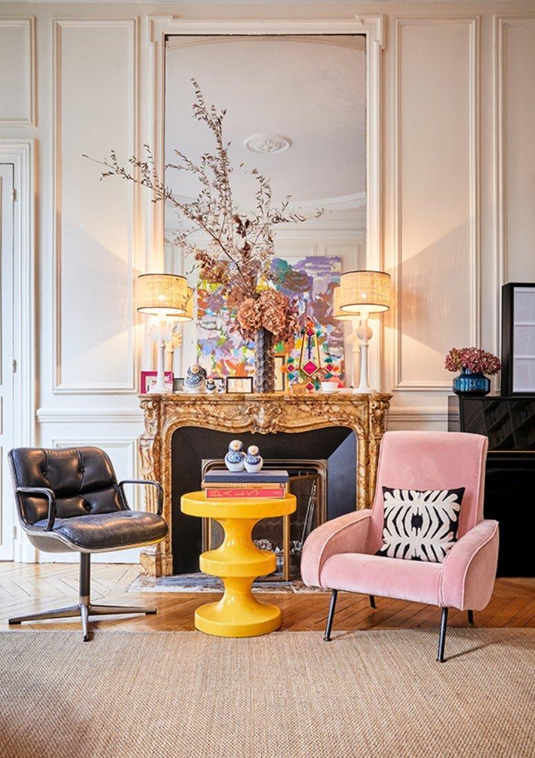 Bohemio y elegante apartamento en París