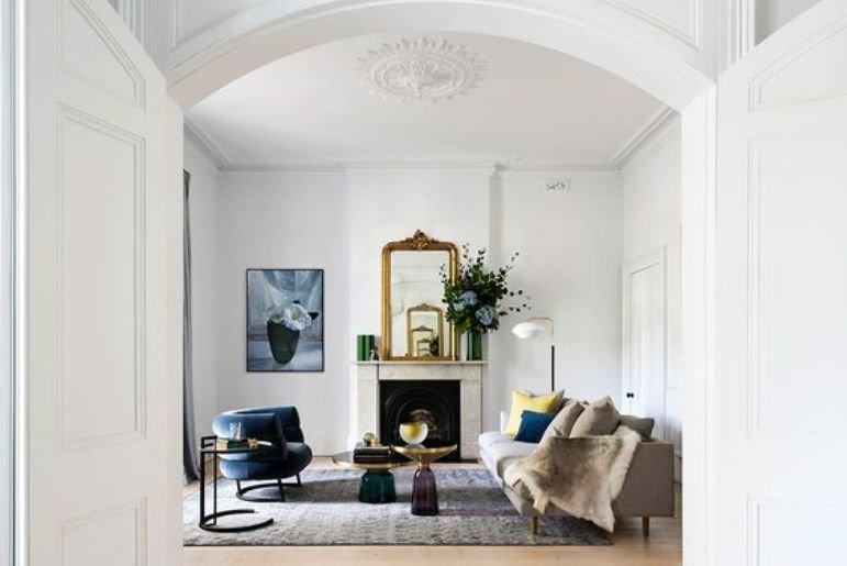 Una casa renovada con un look simple