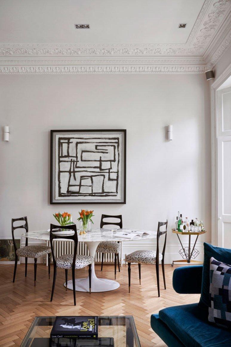 Glamour urbano en una casa en Londres