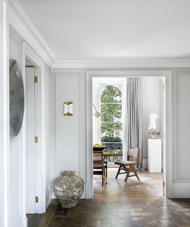 Clásico y moderno para una decoración atemporal