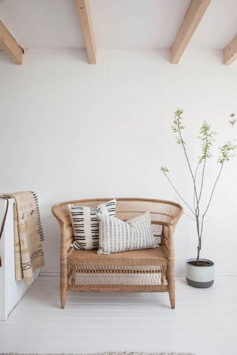 Alerta tendencia: el ratán y las fibras naturales en decoración