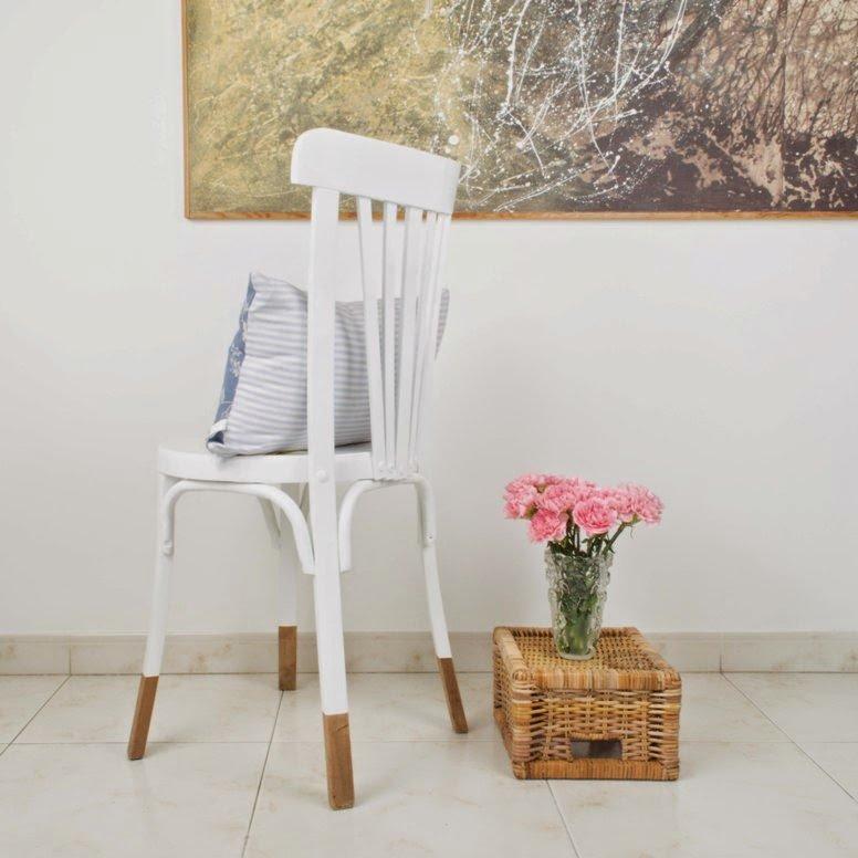 Cómo reparar y cambiar el aspecto de una silla con la técnica del deep-dye