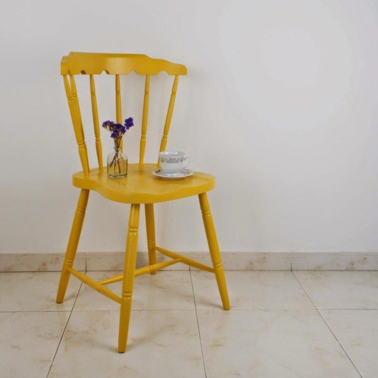 Josefina, la historia de una silla torneada (y desencolada)...