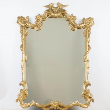 Espejo cornucopia de principios del s. XIX