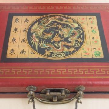 Antiguo juego chino Mahjong