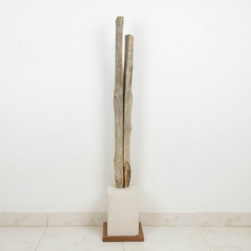 Escultura abstracta, La quietud de las caricias, 2006