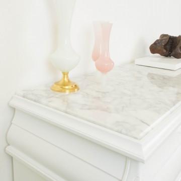 Cómoda Roséline con sobre de mármol