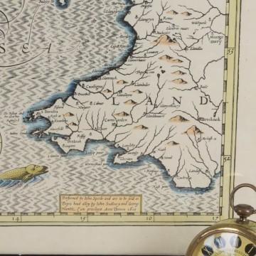 Antiguo mapa de Irlanda