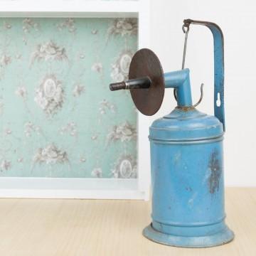 Antigua lámpara de carburo