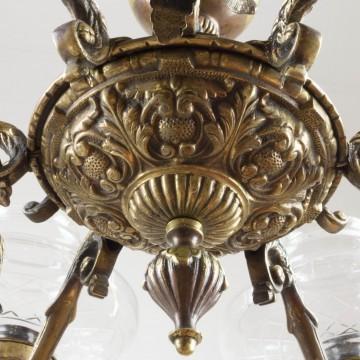 Lámpara de techo o araña de los años 30
