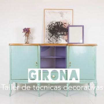 Girona: Técnicas decorativas para transformar muebles