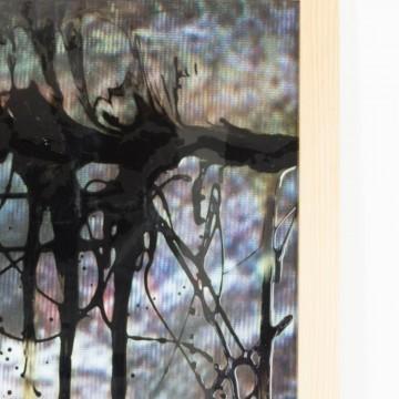 Pintura abstracta, El paso de las sombras, 2009