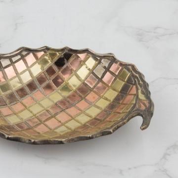 Pequeña bandeja en forma de piña
