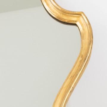 Cornucopia francesa de madera