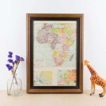 Mapa de África político